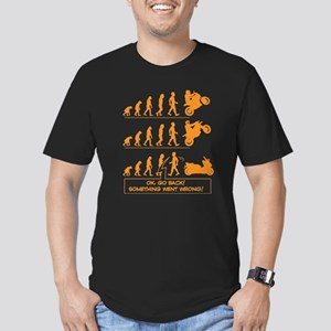 Men's Fitted T-Shirt - Wrong Evolution